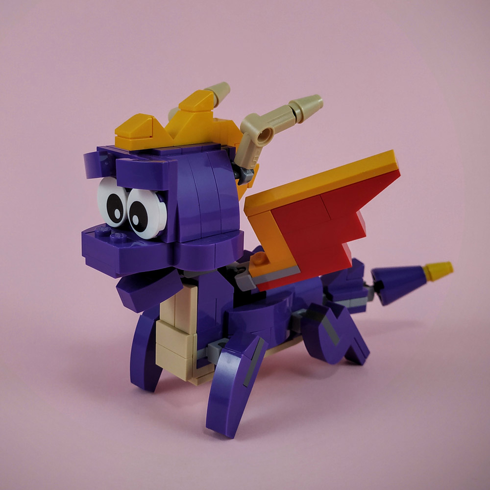 Spyro The Dragon Lego Build