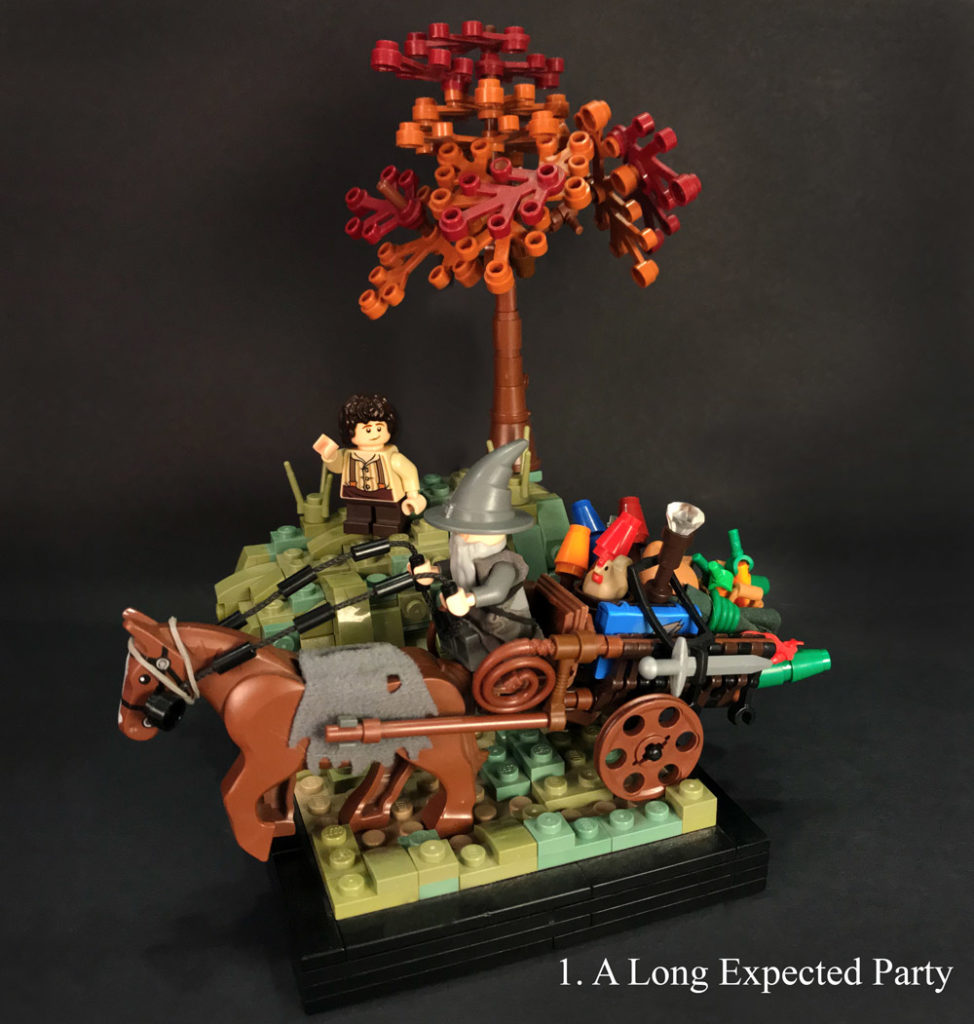 Chapter 1: A Long-Expected Party, A Lego LOTR Series