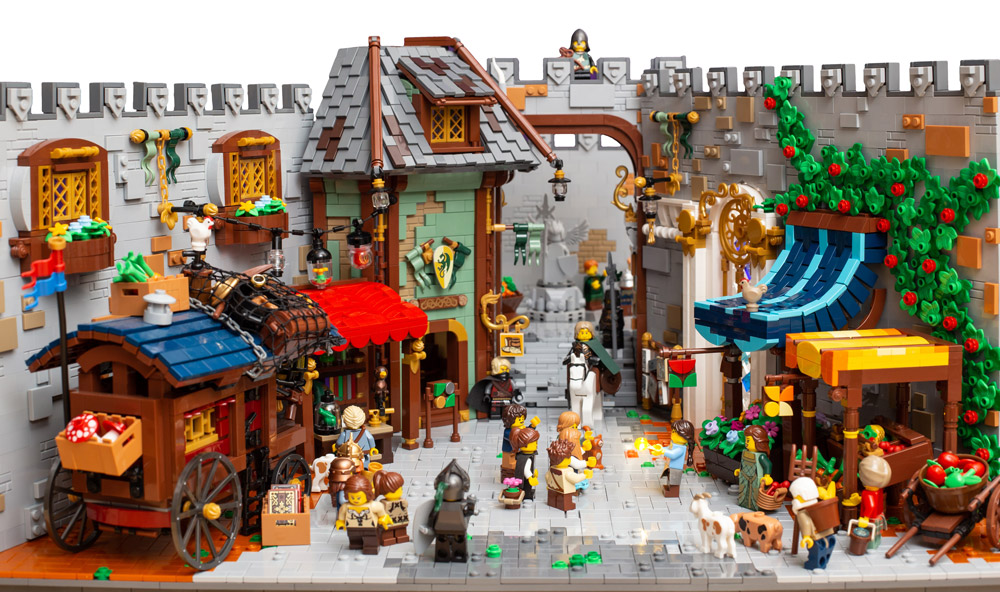 There Is A Little Bit Of Magic In This Lego Town