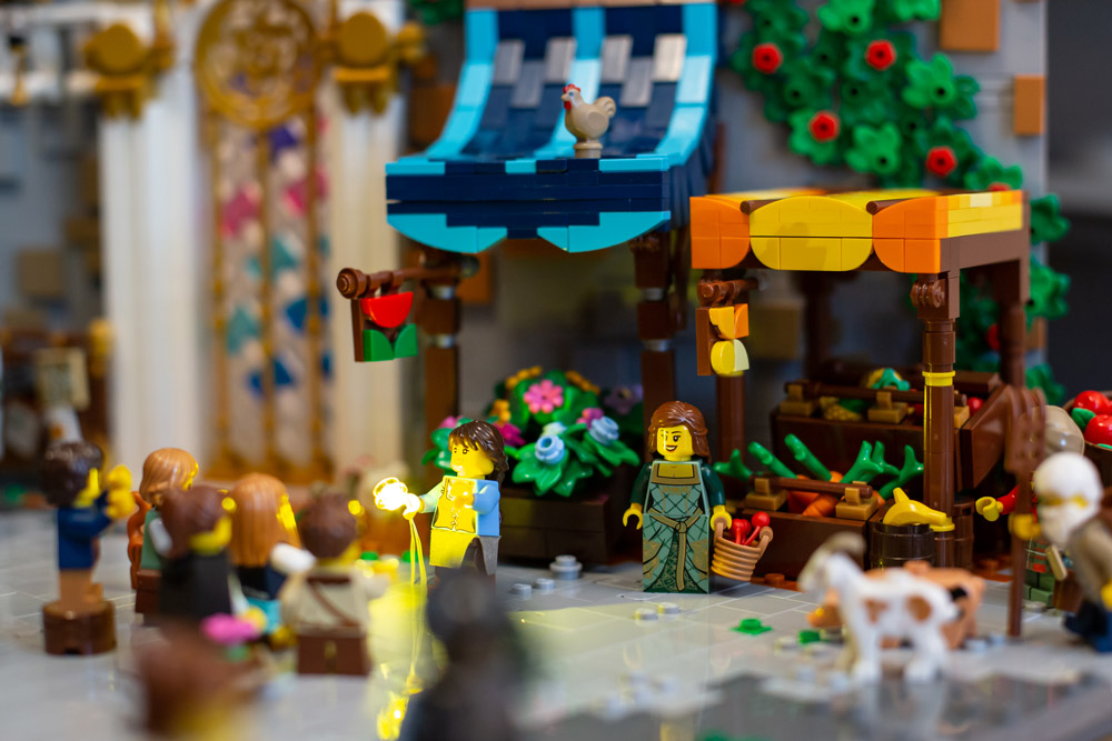 There Is A Little Bit Of Magic In This Lego Town, Flower Detail