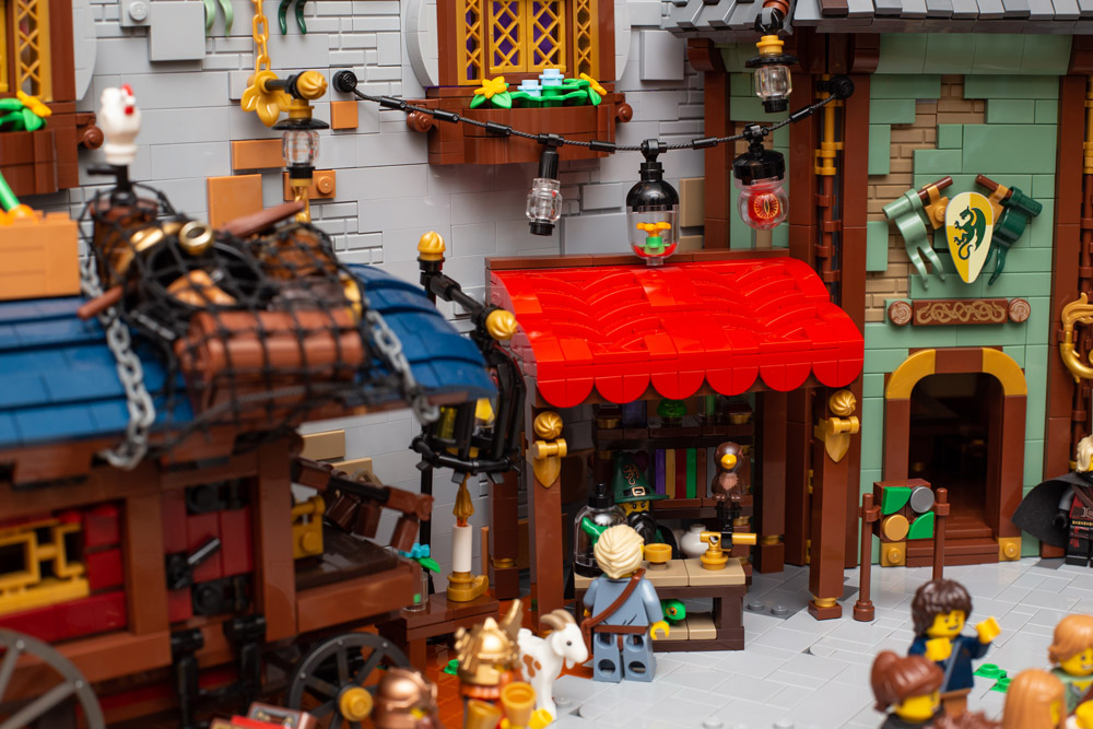 There Is A Little Bit Of Magic In This Lego Town, Street Detail