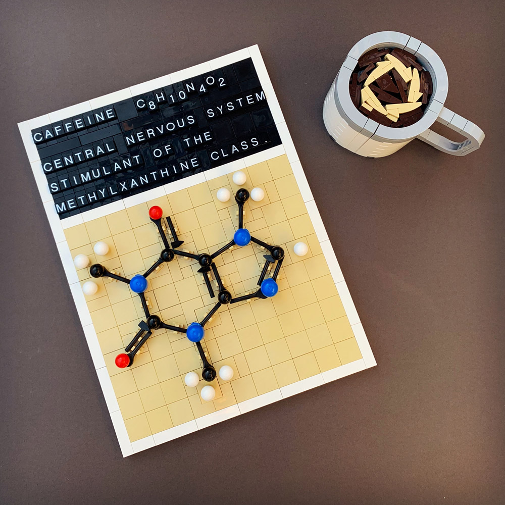 A Lego Caffeine Science Lesson
