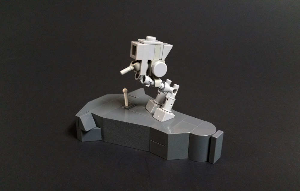 Build Your Own Nano AT-ST With Instructions, Lego MOC