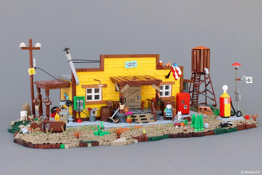 Grab A Soda At The General Store, Lego MOC
