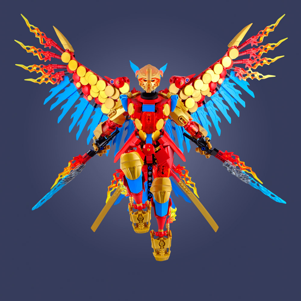 Tahu Uniter, A Lego Bionicle Build