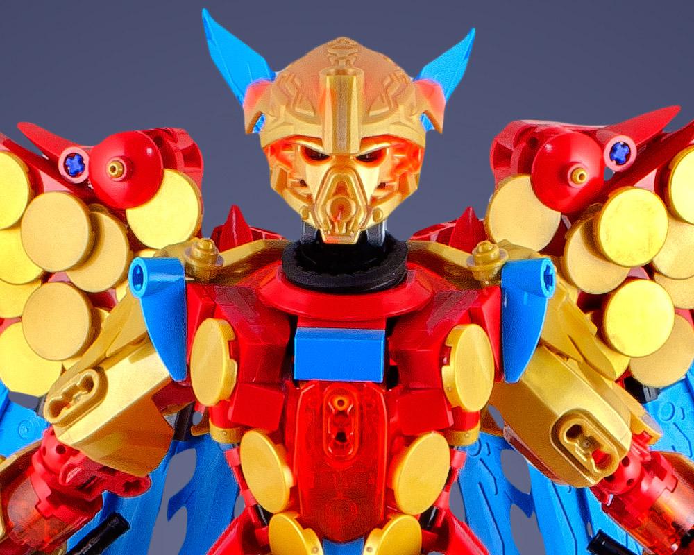 Tahu Uniter, A Lego Bionicle Build Detail