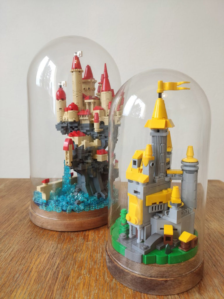 Glass Dome Lego Castles