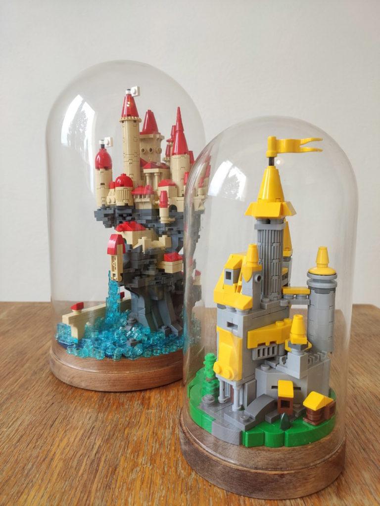 Glass Dome Lego Castles