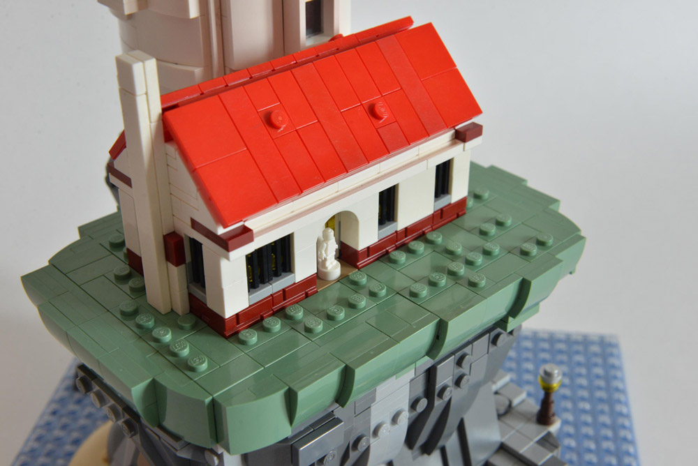 A Motorized Lego Lighthouse, Lightkeeper