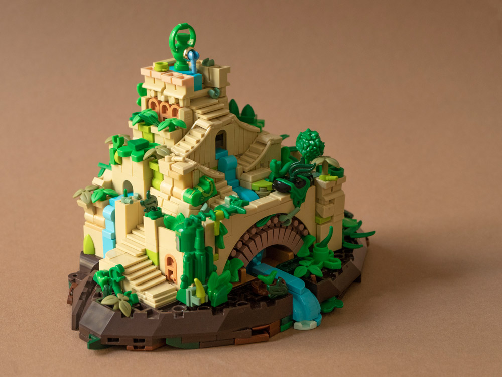 The Hanging Gardens, A Lego Wonder