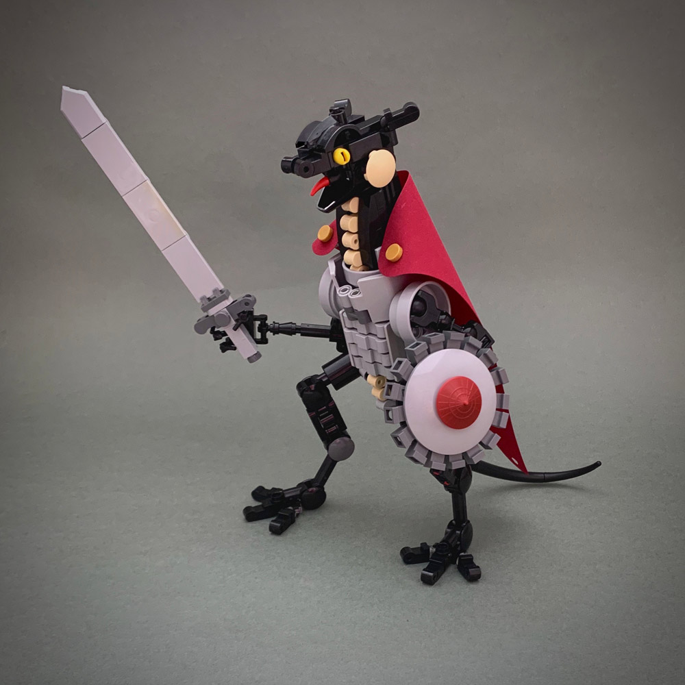 The Deadly Dragon Knight - Lego MOC