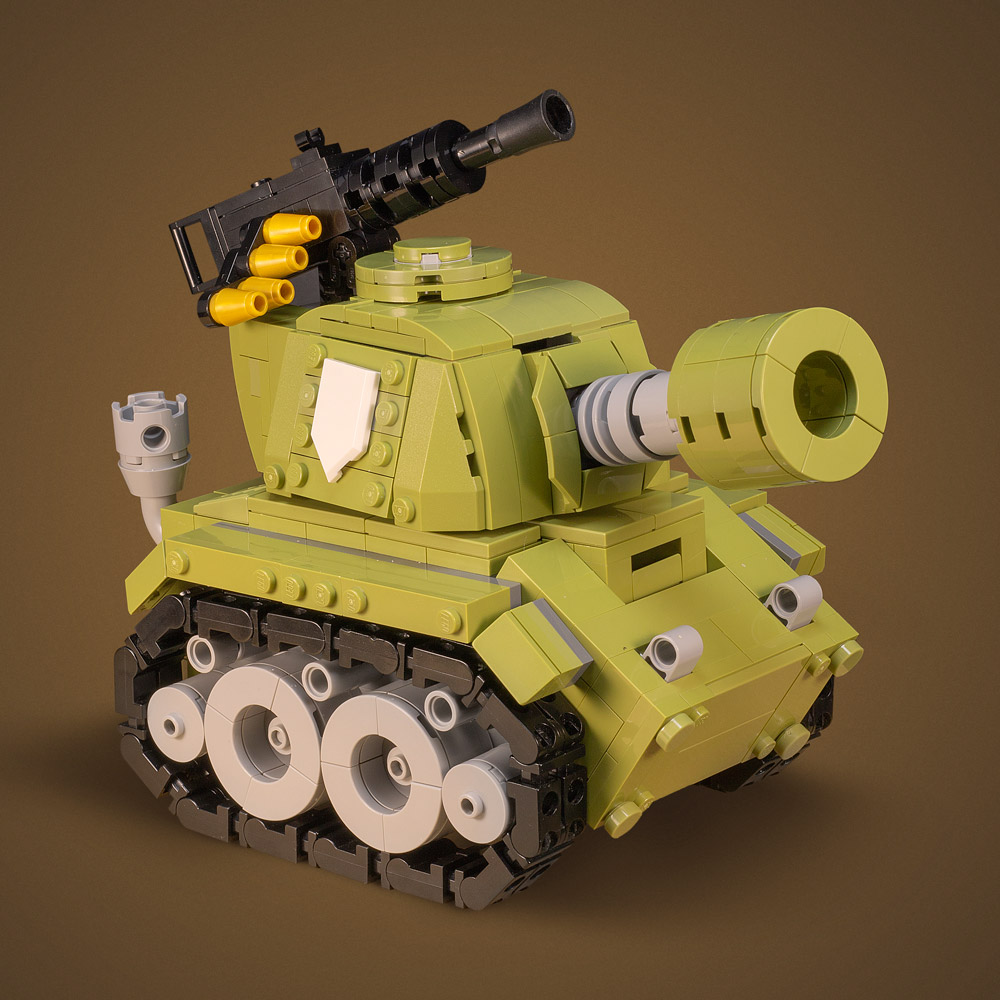 Boom Goes The Lego Tiny Tank