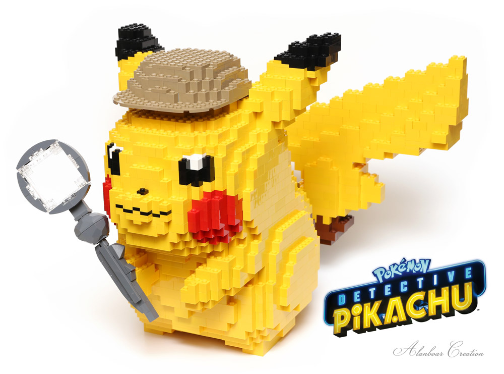A Wild Lego Detective Pikachu Has Appeared