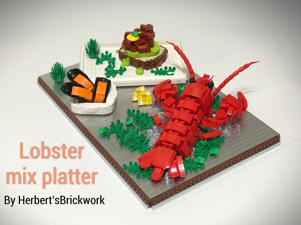 Get Ready For A Lego Lobster Dinner!