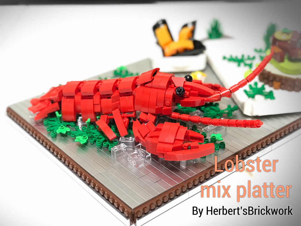 Get Ready For A Lego Lobster Dinner! Detail