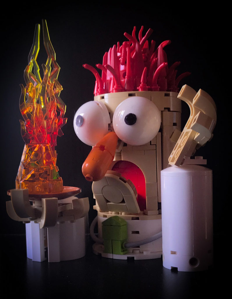 Meep Meep! It's Beaker From The Muppets! - Lego MOC
