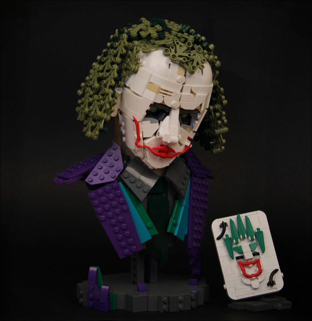 Why So Serious? — A Lego Joker Model