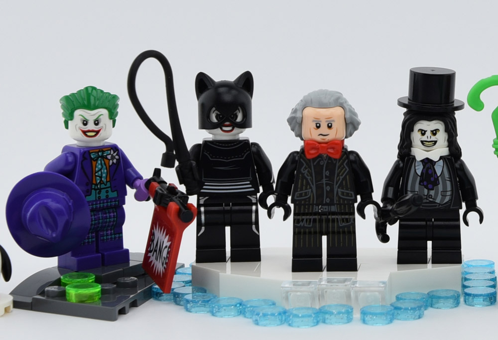 Lego Minifigures From Batman and Batman Returns