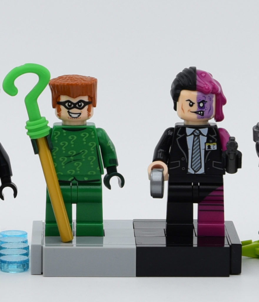 Lego Minifigures From Batman Forever