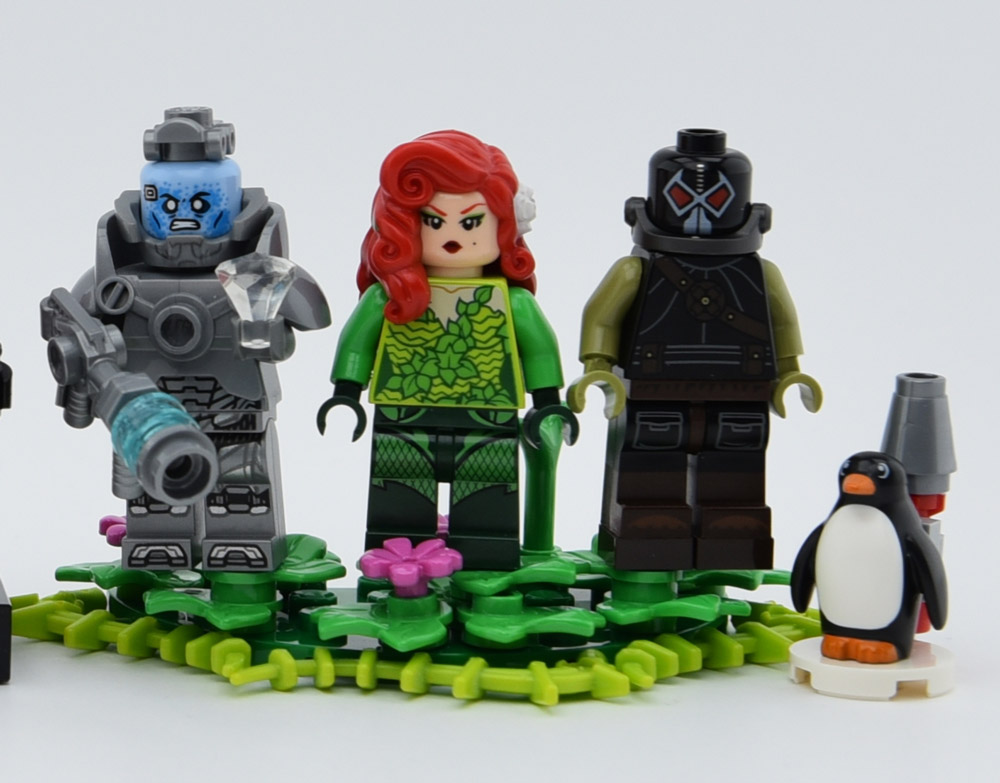 Lego Minifigures From Batman and Robin