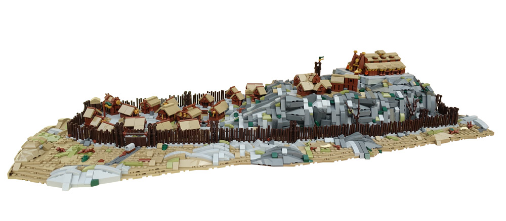 Edoras And Meduseld — Lego Lord Of The Rings