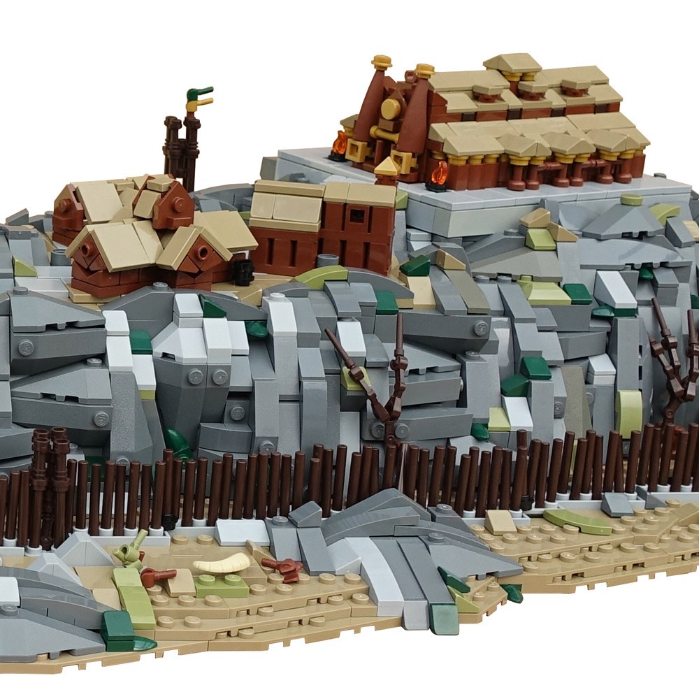 Meduseld — Lego Lord Of The Rings