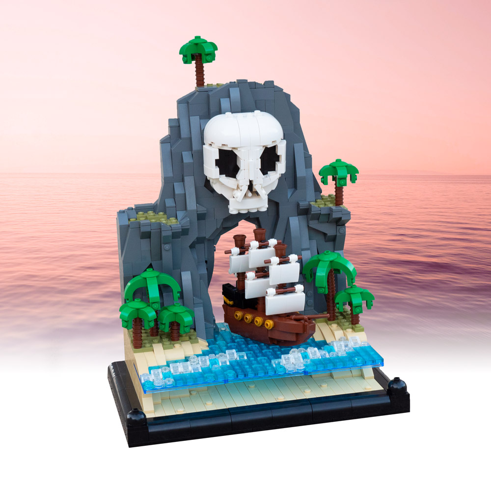 Steer Clear Of This Lego Pirate's Cove