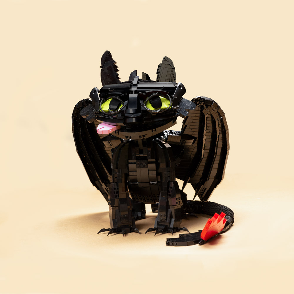 A Cute Lego Toothless
