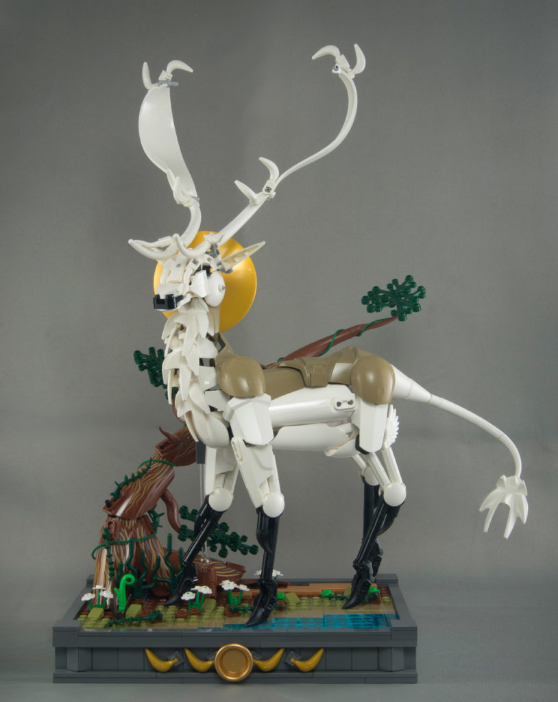 This Lego Deer Is The Light Of The Forest