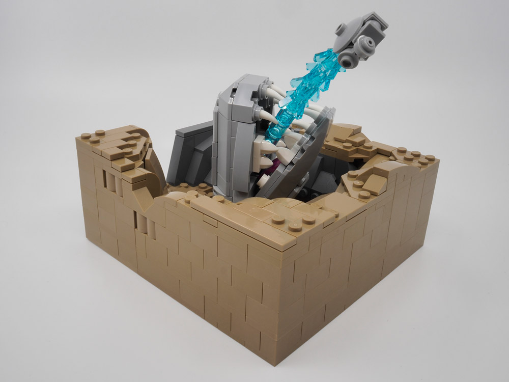This Is No Cave. A Lego Space Slug.