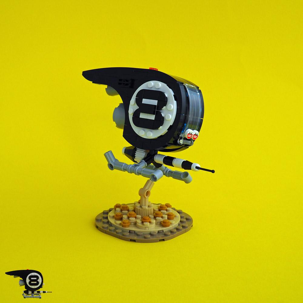 An 8 Ball Pod Racer, Lego MOC
