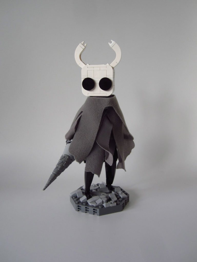 The Hornet, The Knight, And The Hollow Knight Lego MOC