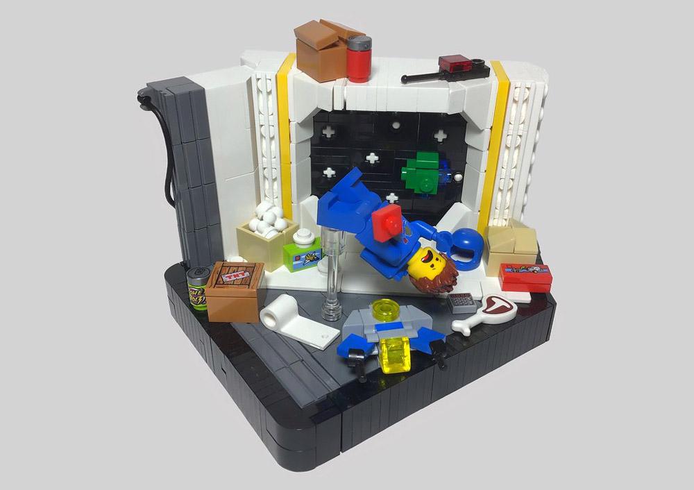 Benny's Quarantine — Lego MOC