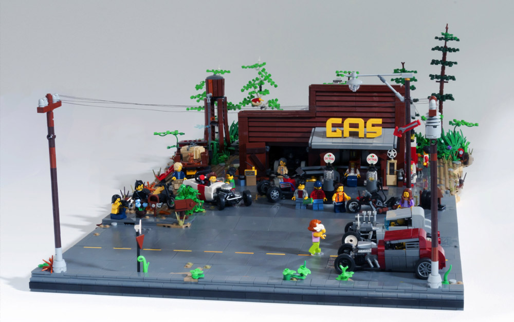 Ready, Set, Go! — A Lego Street Race.