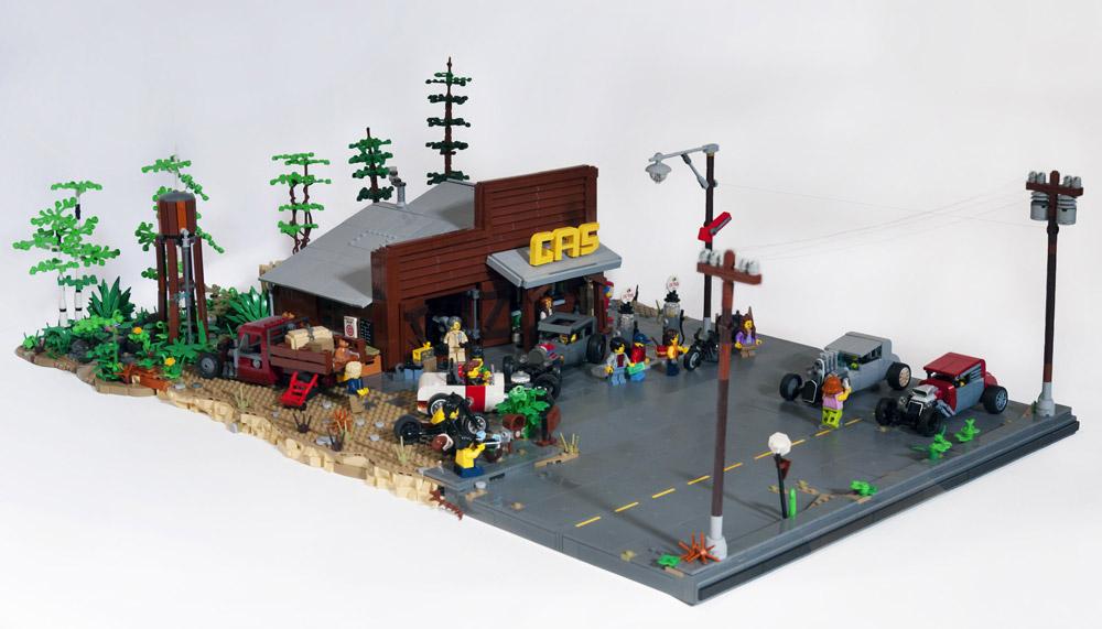 Ready, Set, Go! — A Lego Street Racers Haunt. Detail.