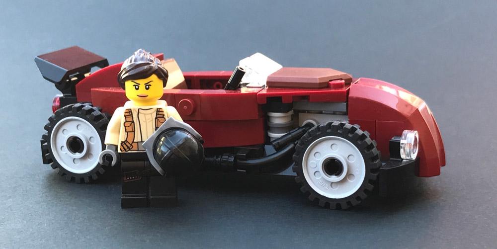 Speeding In A Lego Speedster