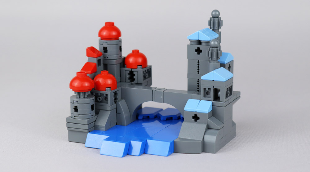 A Lego Castle City Micro Build