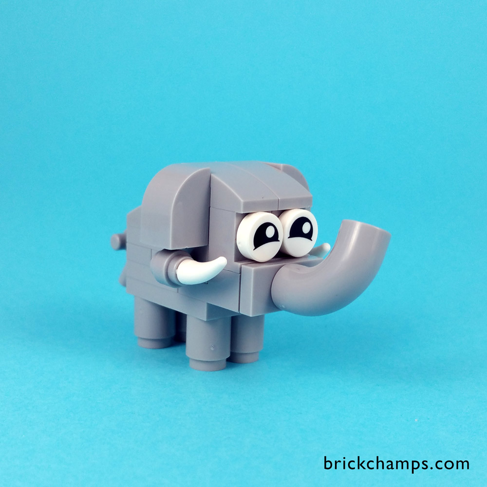 A Baby Elephant — Lego Polybag Creation