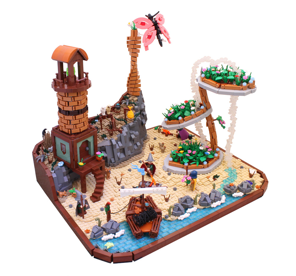 Wizards By The Coast - Lego MOC