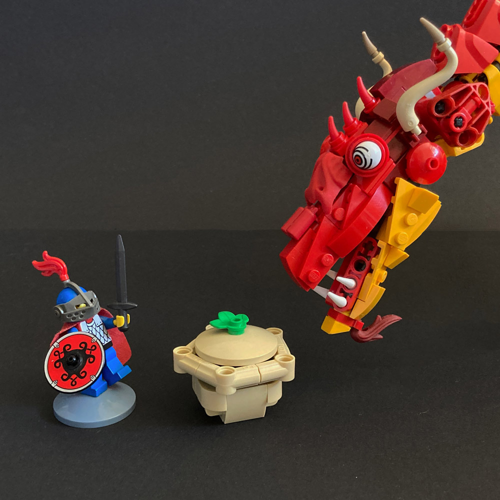 The Knucker And The Pie — Lego Folklore Details