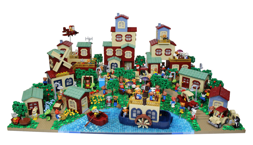 This Lego Fabuland Village Has Everything - New Version