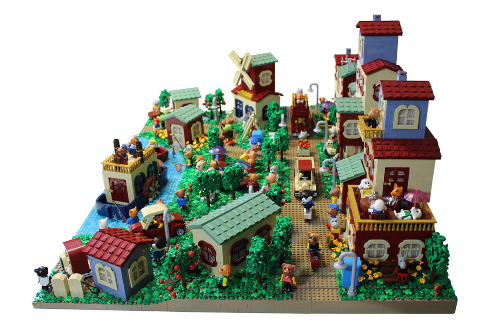 Bring Back Lego Fabuland Village - New