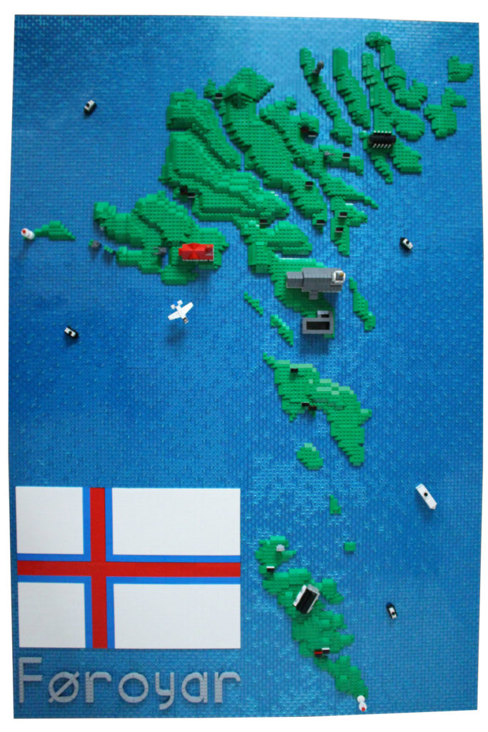 The Faroe Islands — A Lego Map