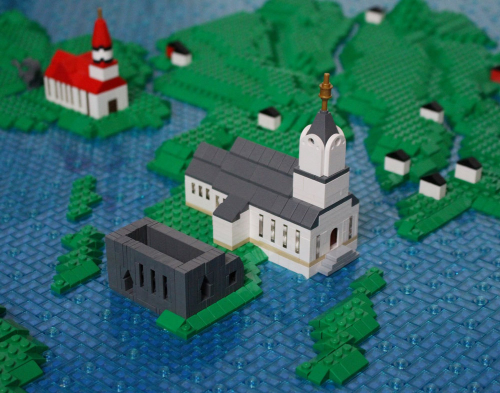 The Faroe Islands — A Lego Map Detail
