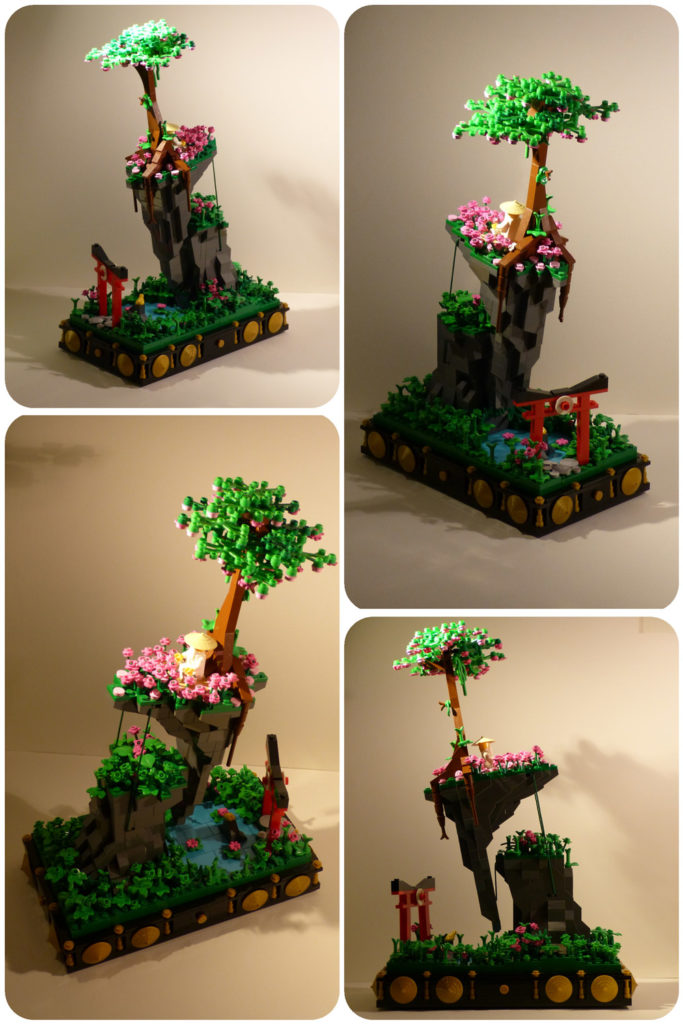 A Floating Island — A Lego Tensegrity Build