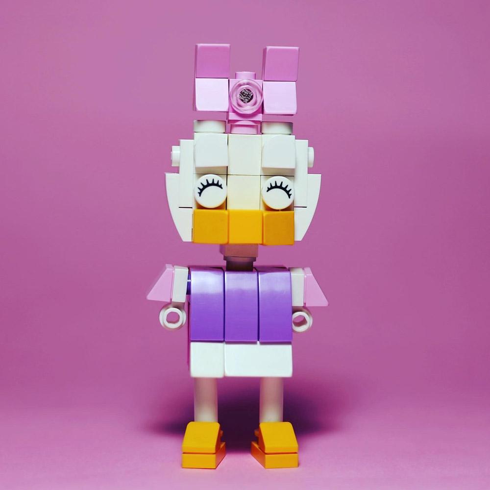 Daisy Duck Lego Figures