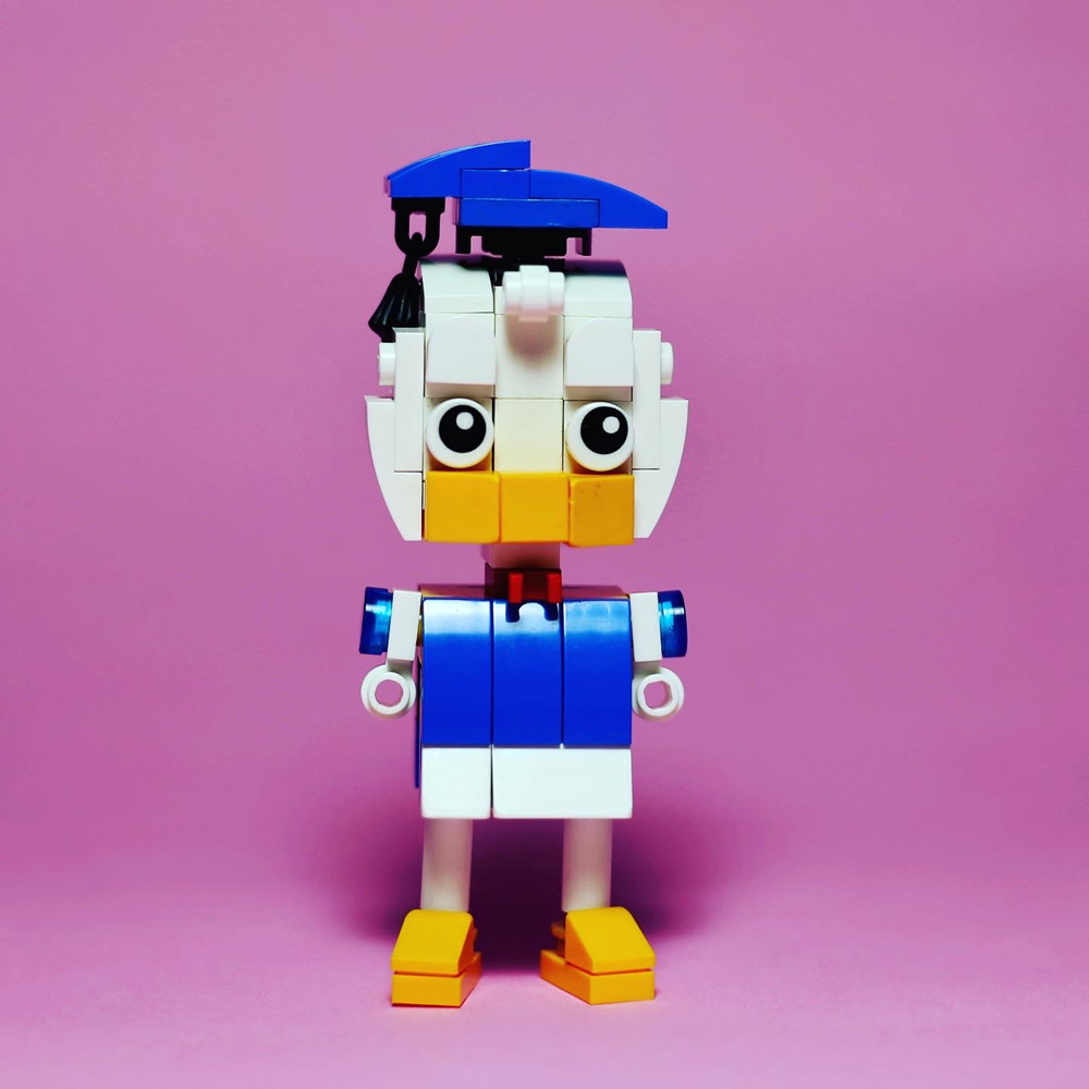 Donald Duck Lego Figures