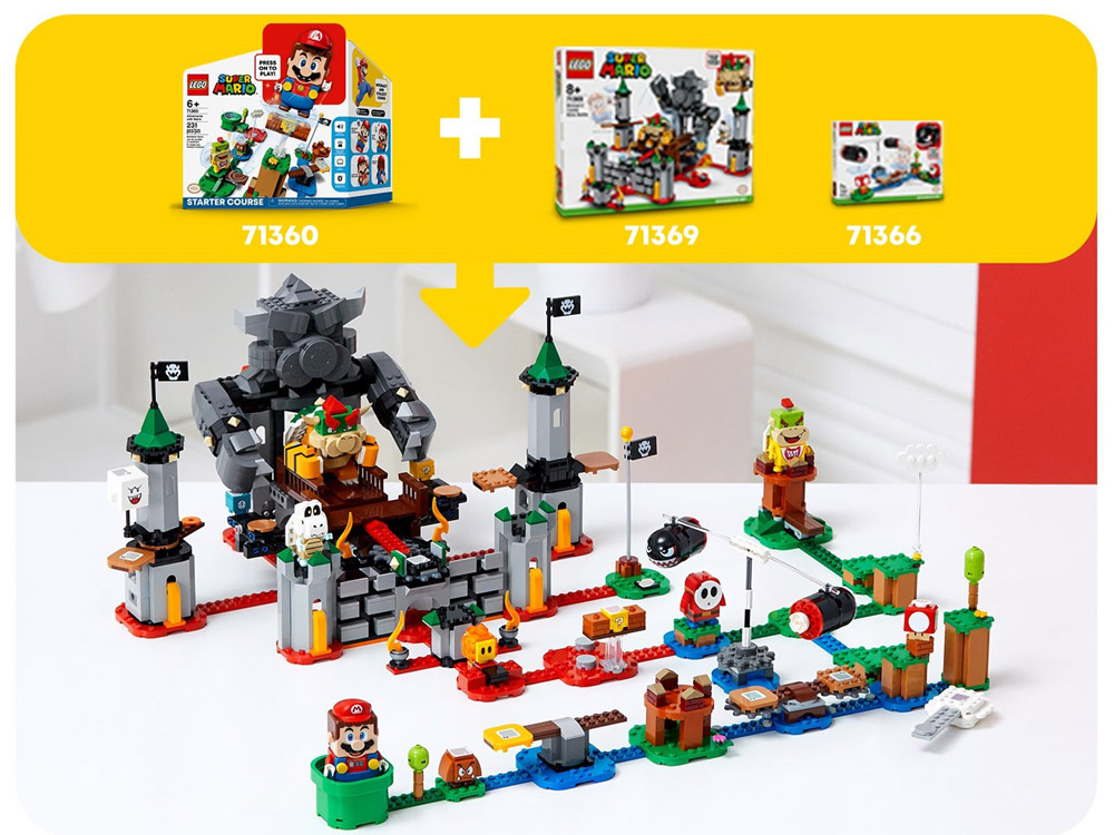 Lego Super Mario Theme Has Powered Up With New Info, Boss Level Details