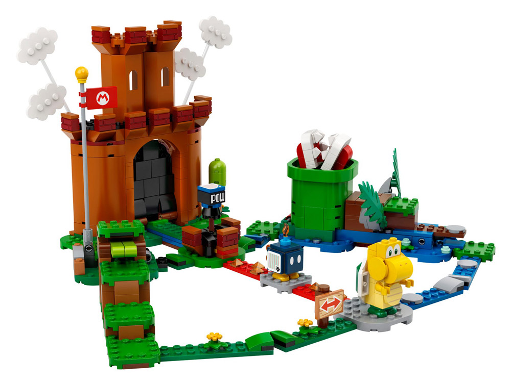 Lego Super Mario Theme Guarded Fortress 71362