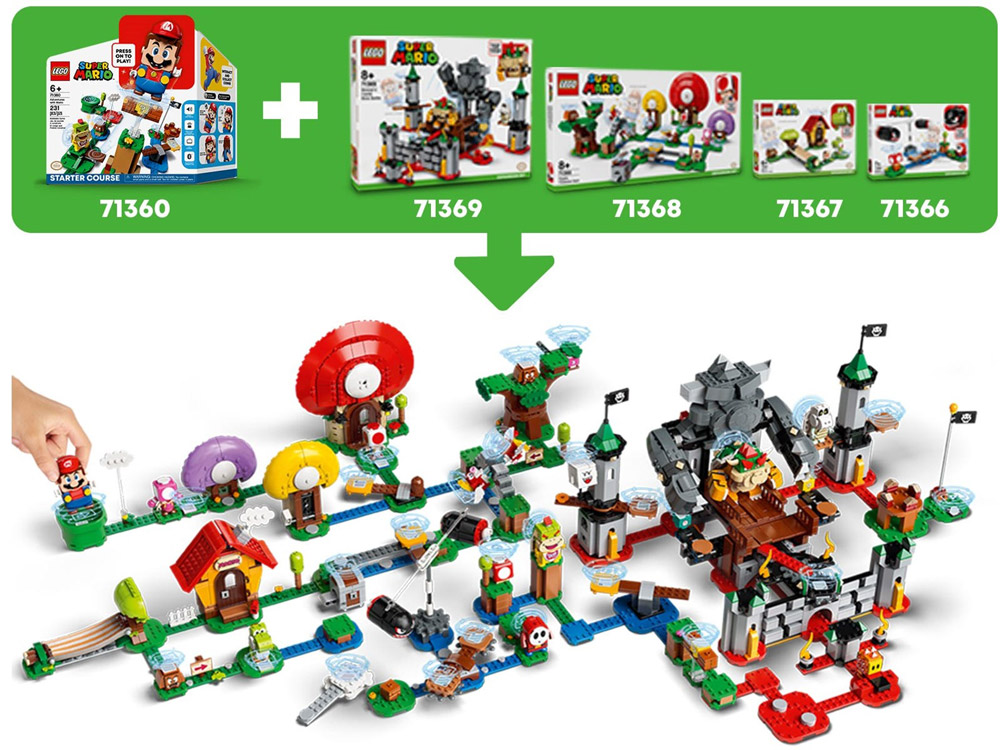 Lego Super Mario Theme Has Powered Up With New Info, Level Details
